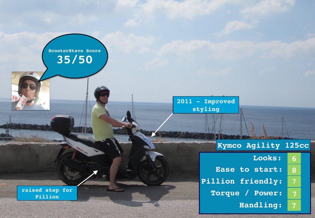 kymco agility 125 2011