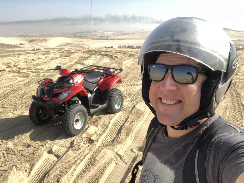 Selfie in Desert